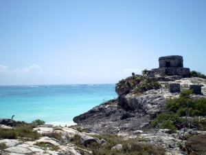 Mayan Ruins In The Yucatan